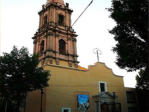 Paseo por Mexico Parroquia de San José en Aguascalientes
