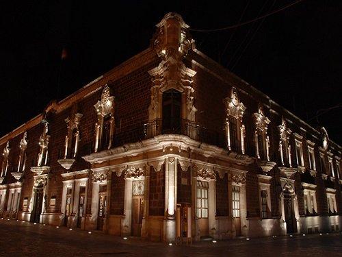 Paseo por Mexico Palacio de Gobierno de Aguascalientes