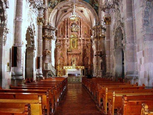 Paseo por Mexico Interior de Santuario Nuestra Señora de Guadalupe en Aguascalientes