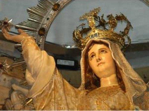 Paseo por Mexico La Escultura de la Virgen de la Asunción en Aguascalientes