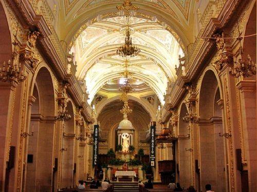 Paseo por Mexico Interior de Catedral Basílica de Aguascalientes