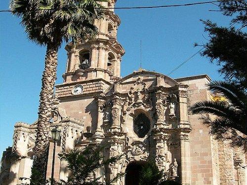 Paseo por Mexico Templo del Señor del Encino en Aguascalientes