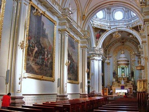Paseo por Mexico Interior de Templo del Señor del Encino en Aguascalientes