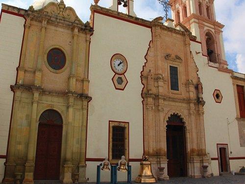 Paseo por Mexico Parroquia Nuestra de Señora de Belén en Asientos