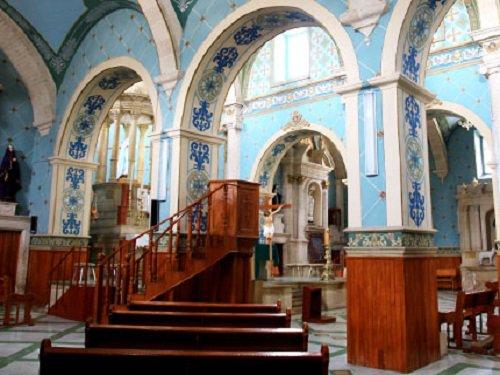 Paseo por Mexico Interior de Parroquia de Nuestra Señora de Belén en Asientos