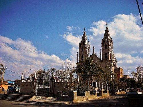 Paseo por Mexico Santuario Nuestra Señora de Guadalupe en Calvillo
