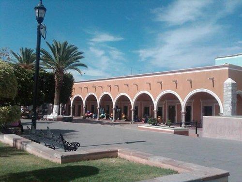 Paseo por Mexico El Parián en Calvillo