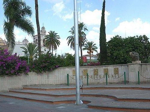 Paseo por Mexico Plaza Municipal de Calvillo