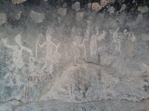 Paseo por Mexico Pinturas Rupestres del Tepozán en Calvillo
