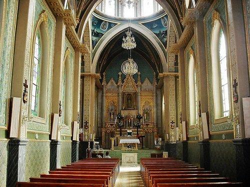 Paseo por Mexico Interior de Santuario Nuestra Señora de Guadalupe en Calvillo