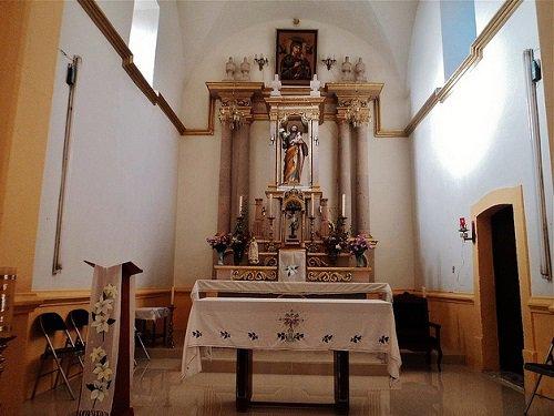 Paseo por Mexico Interior de la Capilla Señor San José en Calvillo