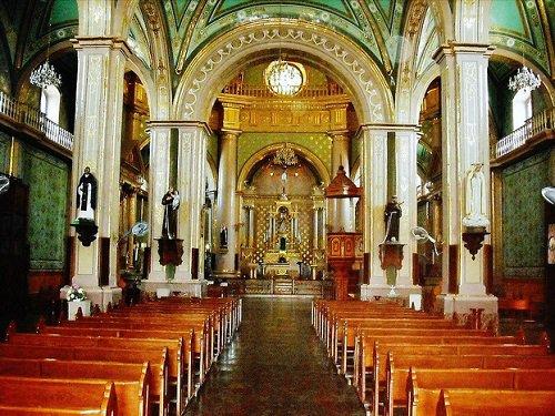 Paseo por Mexico Interior de la Parroquia del Señor del Salitre en Calvillo
