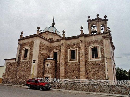 Paseo por Mexico Parroquia Nuestra Señora de La Luz en El Llano