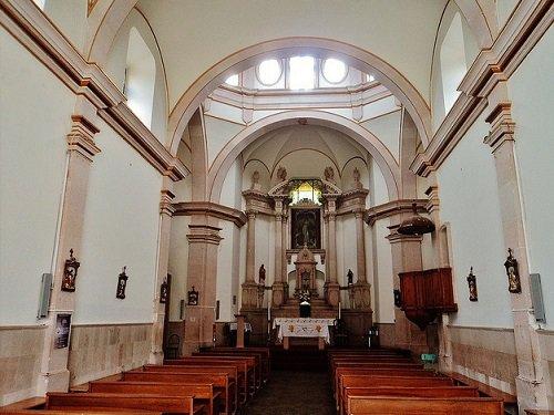 Paseo por Mexico Interior de Parroquia Nuestra Señora de La Luz en El Llano