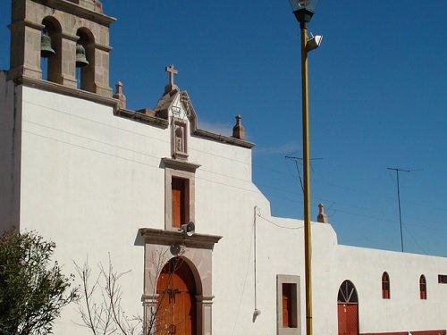 Paseo por Mexico Templo Parroquial de Guadalupe en Pabellón de Arteaga