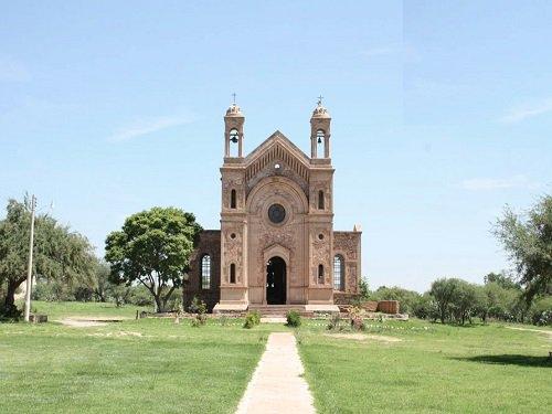 Paseo por Mexico Hacienda de Garabato y Templo de San Isidro Labrador en Pabellón de Arteaga