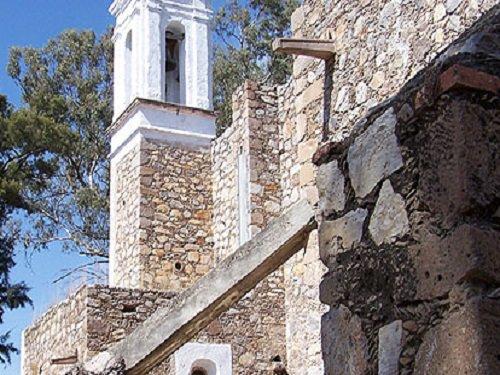 Paseo por Mexico Hacienda San Luis de Letras en Pabellón de Arteaga