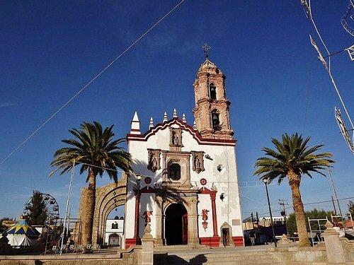 Paseo por Mexico Templo de San Blas en Rincón de Romos