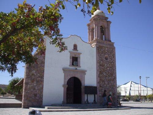 Paseo por Mexico Capilla de San José en Rincón de Romos