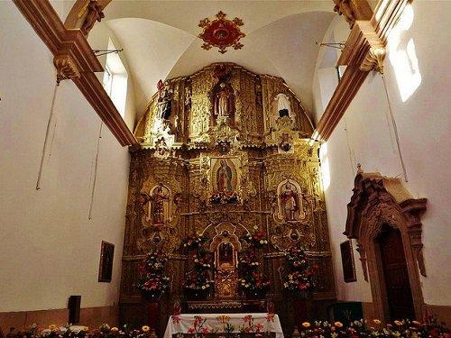 Paseo por Mexico Interior de Templo de San Blas en Rincón de Romos