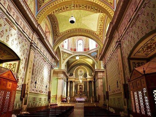 Paseo por Mexico Interior de la Parroquia de Nuestra Señora del Refugio en Tepezalá