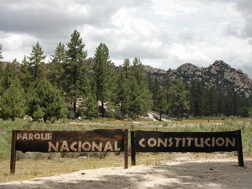 Paseo por Mexico Parque Nacional Constitución 1857 en Ensenada