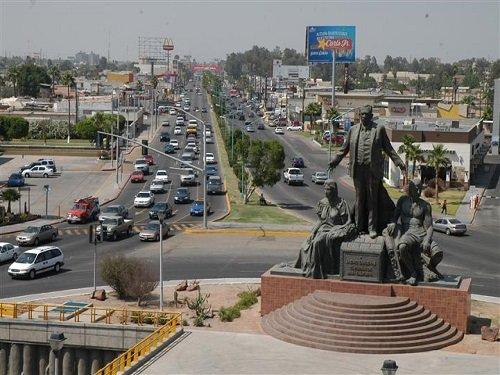 Paseo por Mexico Monumento al Ex -Presidente Lázaro Lárdenas en Mexicali