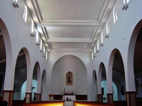 Paseo por Mexico Interior de la Catedral de Nuestra Señora de Guadalupe en Mexicali