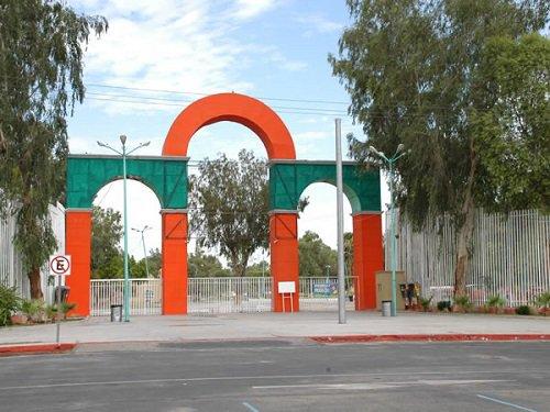 Paseo por Mexico Parque Vicente Guerrero en Mexicali
