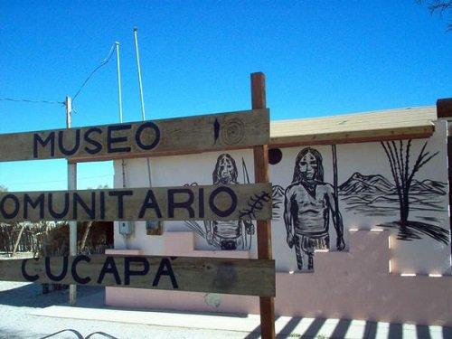 Paseo por Mexico Museo Comunitario Cucapa en Mexicali