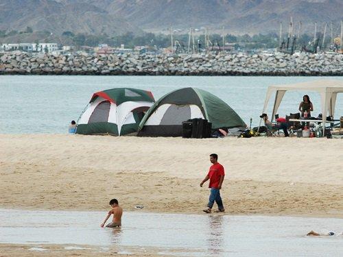 Paseo por Mexico Caminar sobre el mar en Mexicali