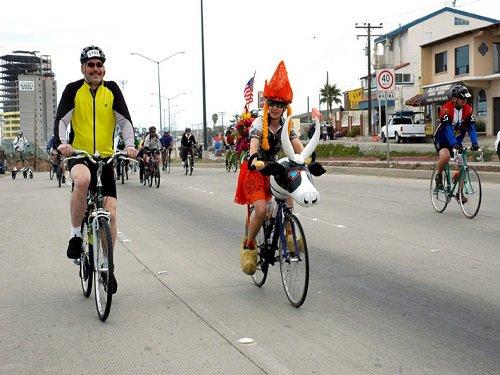 Paseo por Mexico Paseo Ciclista en Playas de Rosarito