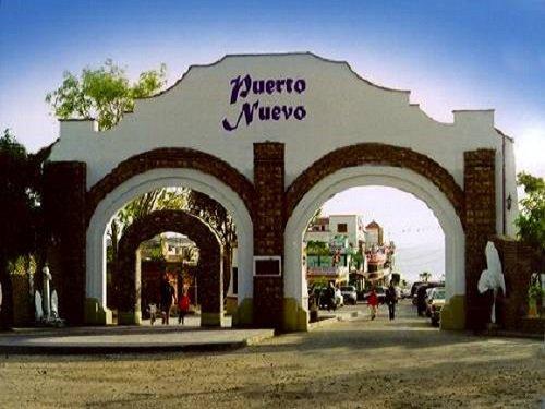 Paseo por Mexico Puerto Nuevo en Playas de Rosarito