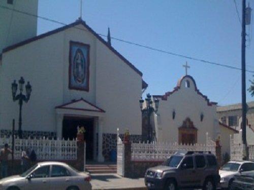 Paseo por Mexico Parroquia de Nuestra Señora de Guadalupe en Tecate