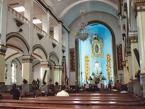 Paseo por Mexico Interior de la Catedral de Tijuana, Nuestra Señora de Guadalupe