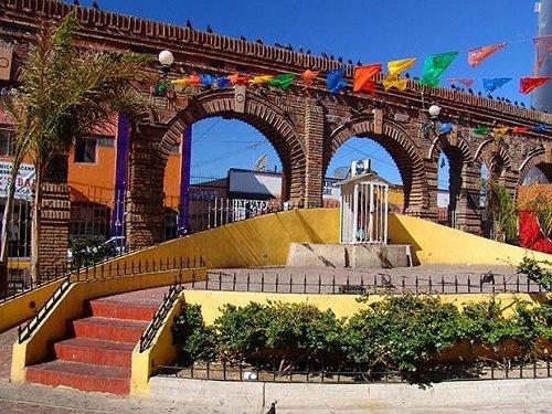 Paseo por Mexico Plaza Santa Cecilia en Tijuana