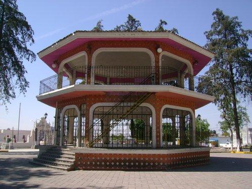 Paseo por Mexico Kiosco de Acajete