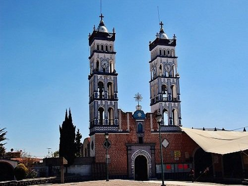 Paseo por Mexico Iglesia Santa Maria Nenetzintla en Acajete