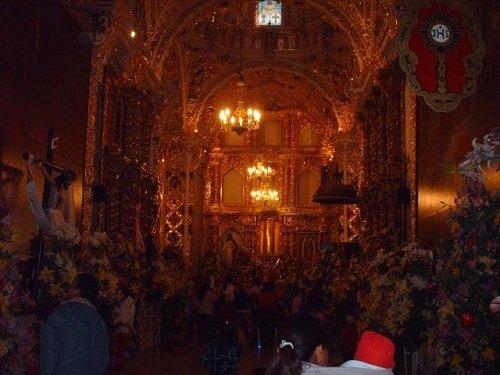 Paseo por Mexico Interior Iglesia Santa Isabel Tepetzala en Acajete