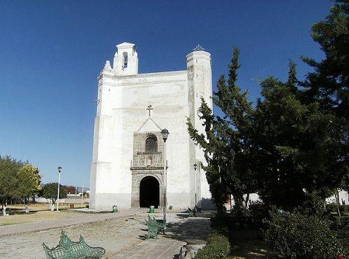 Paseo por Mexico Convento Franciscano de Acatzingo