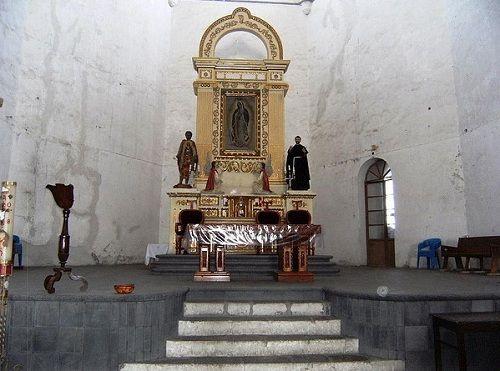 Paseo por Mexico Interior de Convento Franciscano de Acatzingo