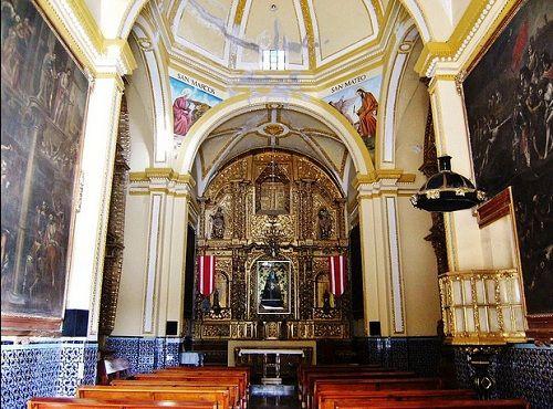 Paseo por Mexico Interior Capilla de la Virgen de la Soledad en Acatzingo
