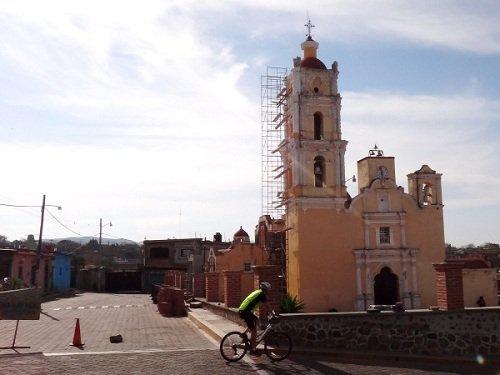 Paseo por Mexico Iglesia de San Marcos en Acteopan