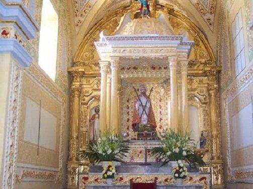 Paseo por Mexico Interior Templo parroquial en advocación a San Andrés en Ahuatlán