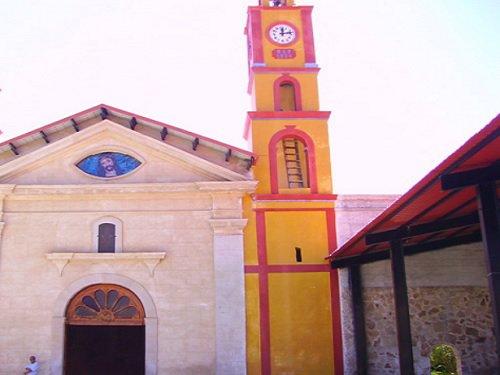 Paseo por Mexico Iglesia Parroquial en honor de la Asunción de María en Ahuazotepec