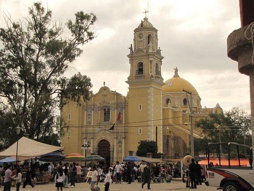 Paseo por Mexico Parroquia de San Juan Bautista en Ajalpan