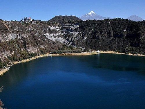 Paseo por Mexico Laguna de Aljojuca