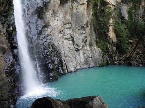 Paseo por Mexico El Salto de Tepexcanal en Aquixtla
