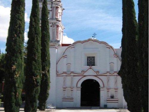Paseo por Mexico Templo parroquial de San Martín en Atexcal