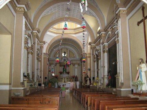 Paseo por Mexico Interior de Templo parroquial de San Martín en Atexcal